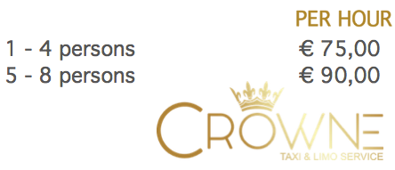 Taxi Crowne Limo Service per hour